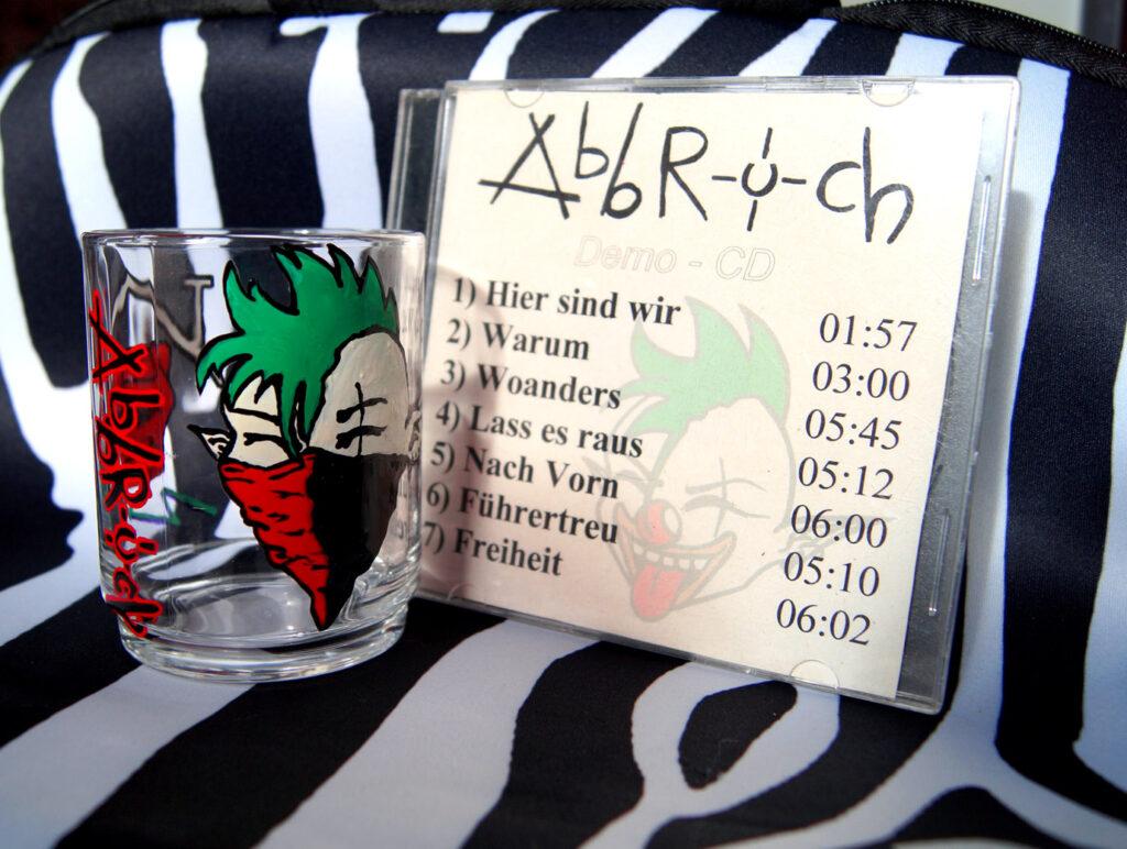 Abbruch-Demo (2004) & DIY Glas (UNIKAT)
