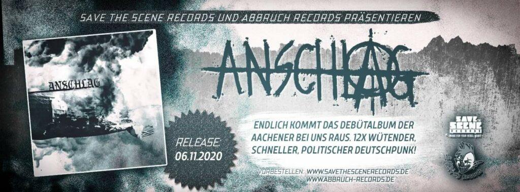 Anschlag punk band aus Aachen